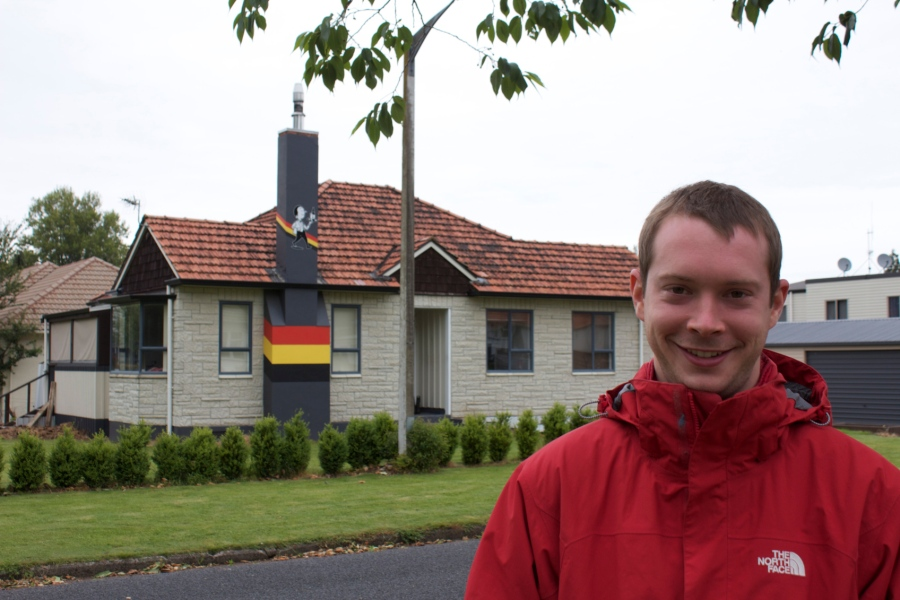 German house in New Zealand