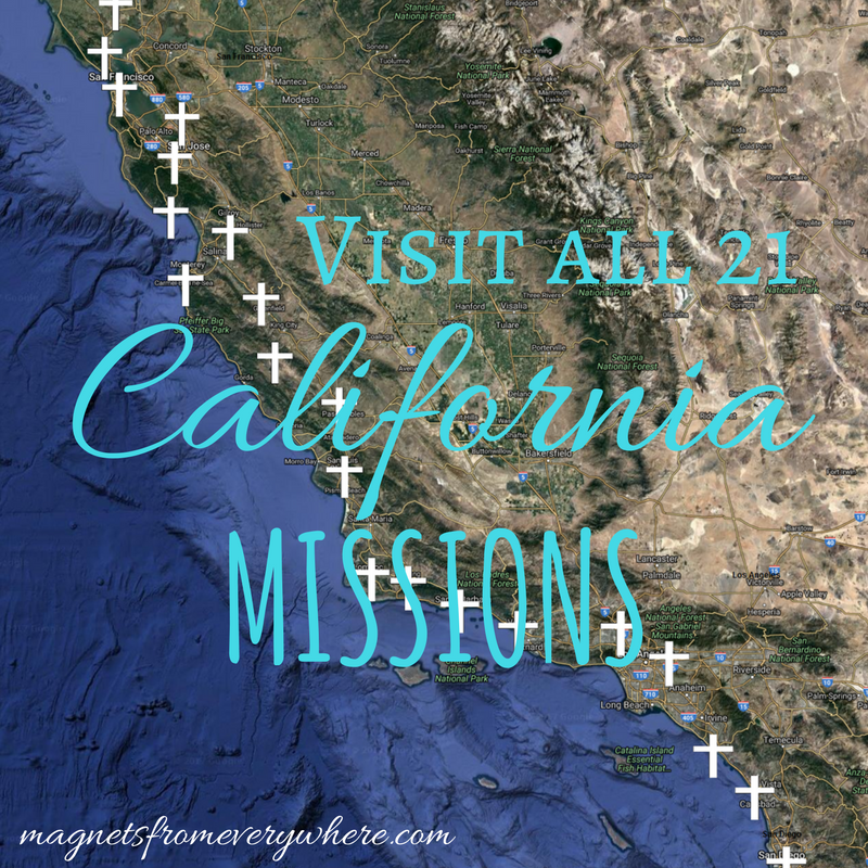 Visit All 21 California Missions
